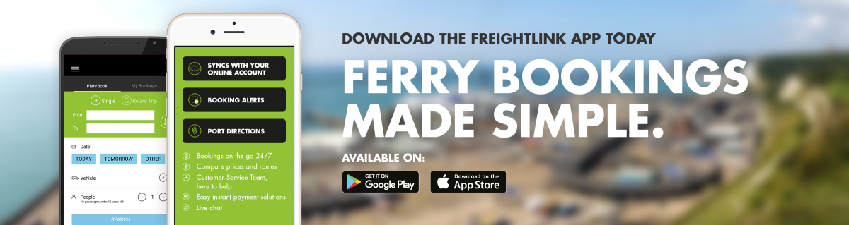 download the freightlink ferry booking app