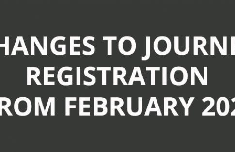 changes to eu journey registration