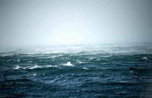 rough sea
